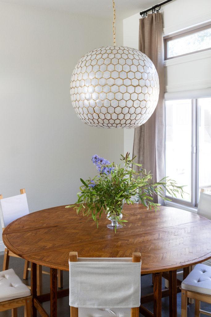 Dining Room Progress with a Coastal Design