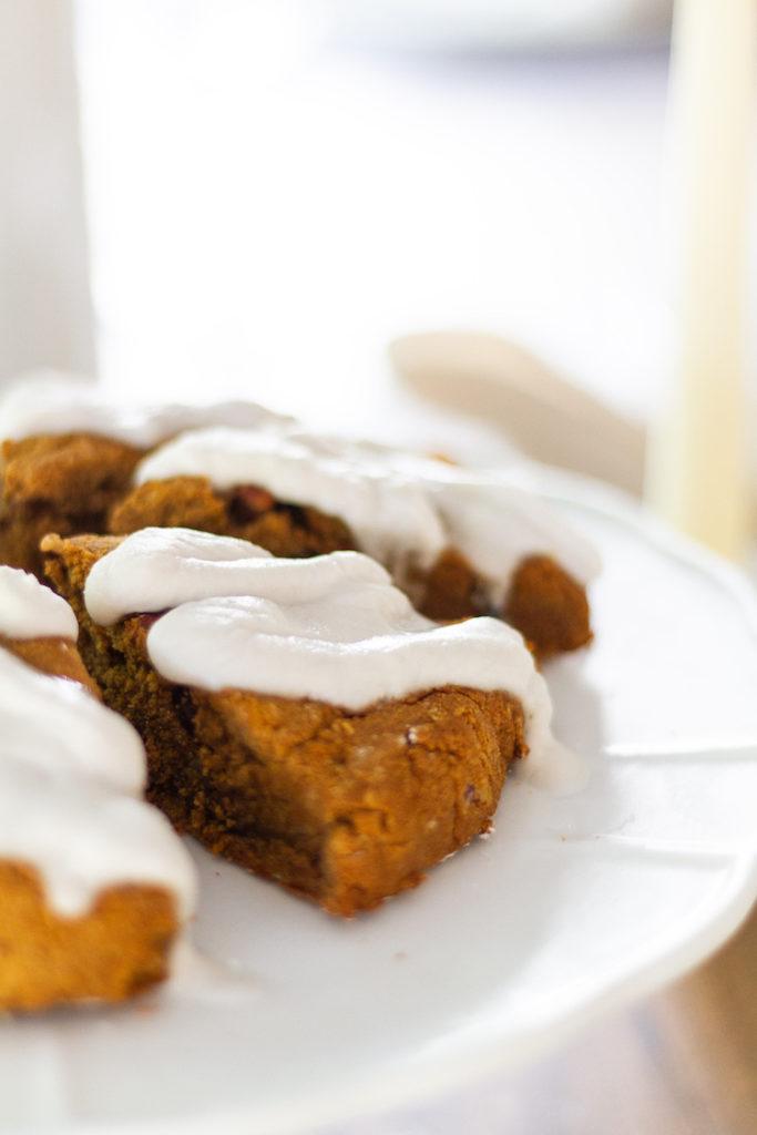 Gluten and Dairy - Free Pumpkin Scones